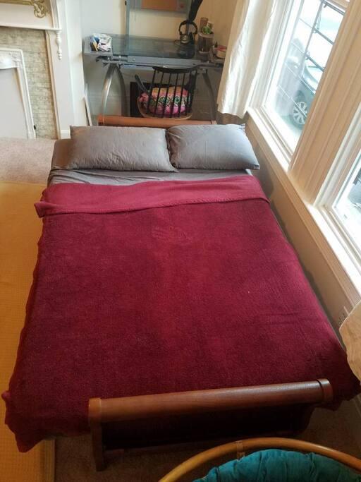 Comfy futon!