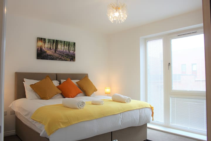 ❤️⭐️ Luxury flat in Central MK with FREE PARKING ⭐️❤️