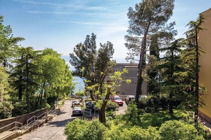Mooi appartement in Rijeka vlak bij de zee