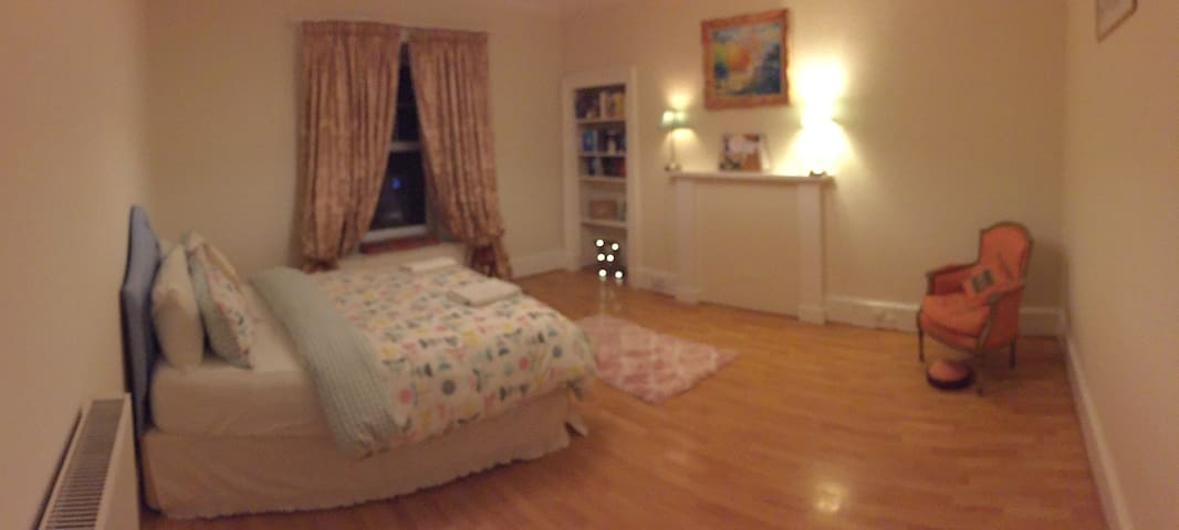 Clean, spacious  and filled with Character