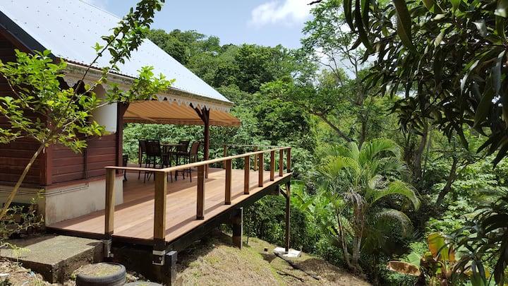 Bungalow Nature & Zen au cœur de la Martinique
