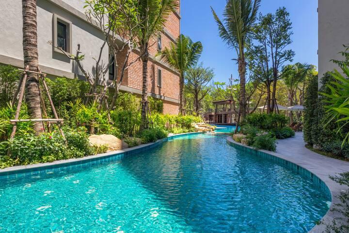 Well-furnished 1 Bedroom Apartment @NaiYang – 250m