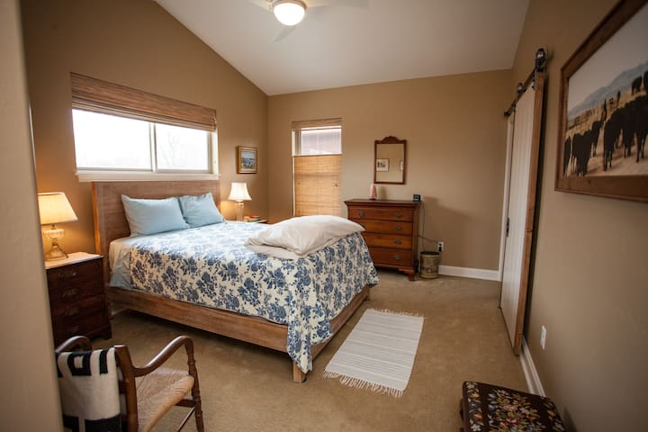 Large and cozy master bedroom
