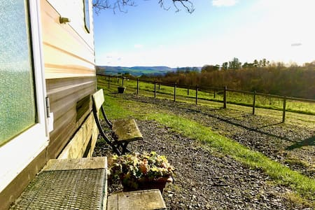 Rural Cambrian retreat amidst Welsh pastures