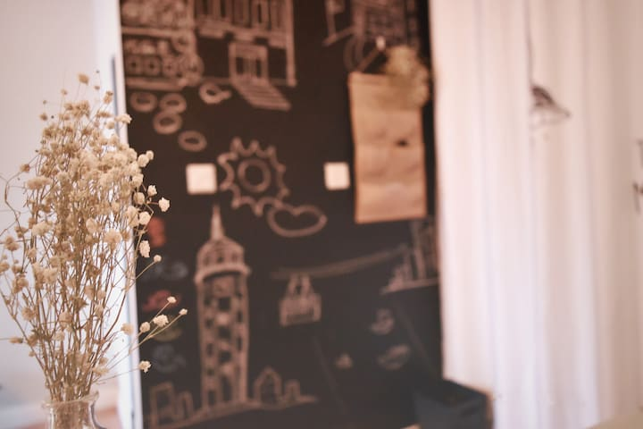 【土豆小窝】解放碑精致北欧公寓/超大投影/洪崖洞/美食街/吃货天堂/密码锁/管家式服务/商圈漫时光