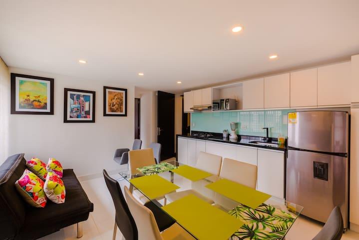 Maravilloso apartamento en La Soledad.