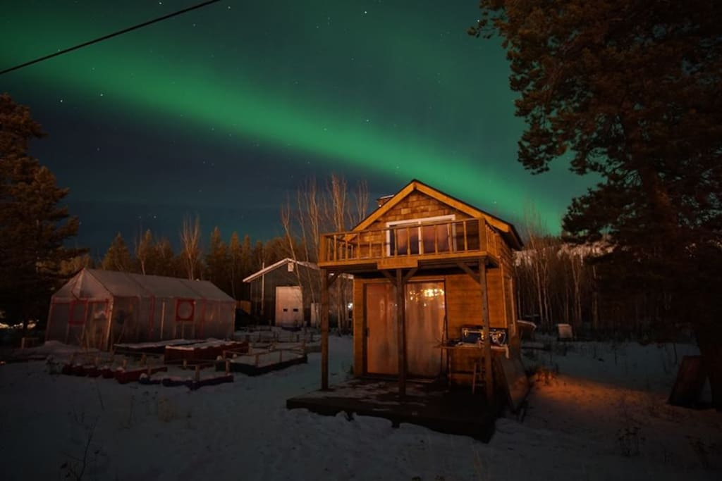 View the Aurora from your porch
