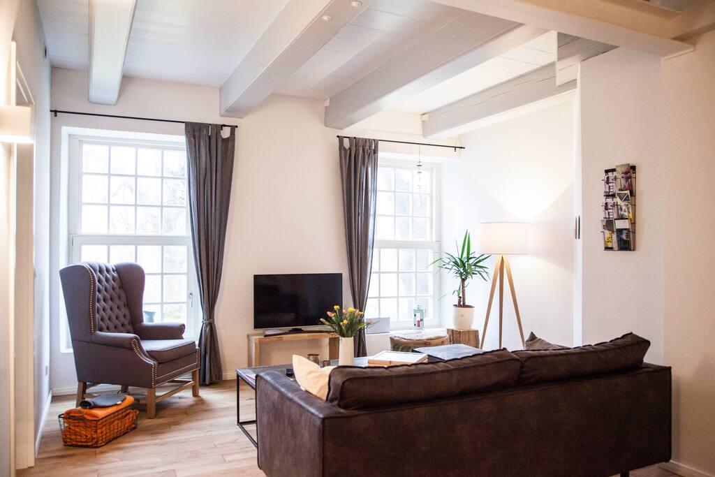 wohnen im denkmal direkt am meer wohnungen zur miete in. Black Bedroom Furniture Sets. Home Design Ideas