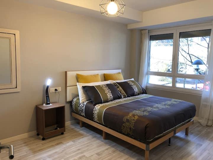 Habitación privada confortable con baño privado