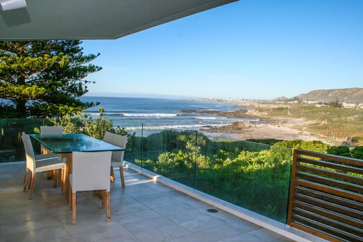 Hermanus Beach Villa with Ocean & Mountain Views