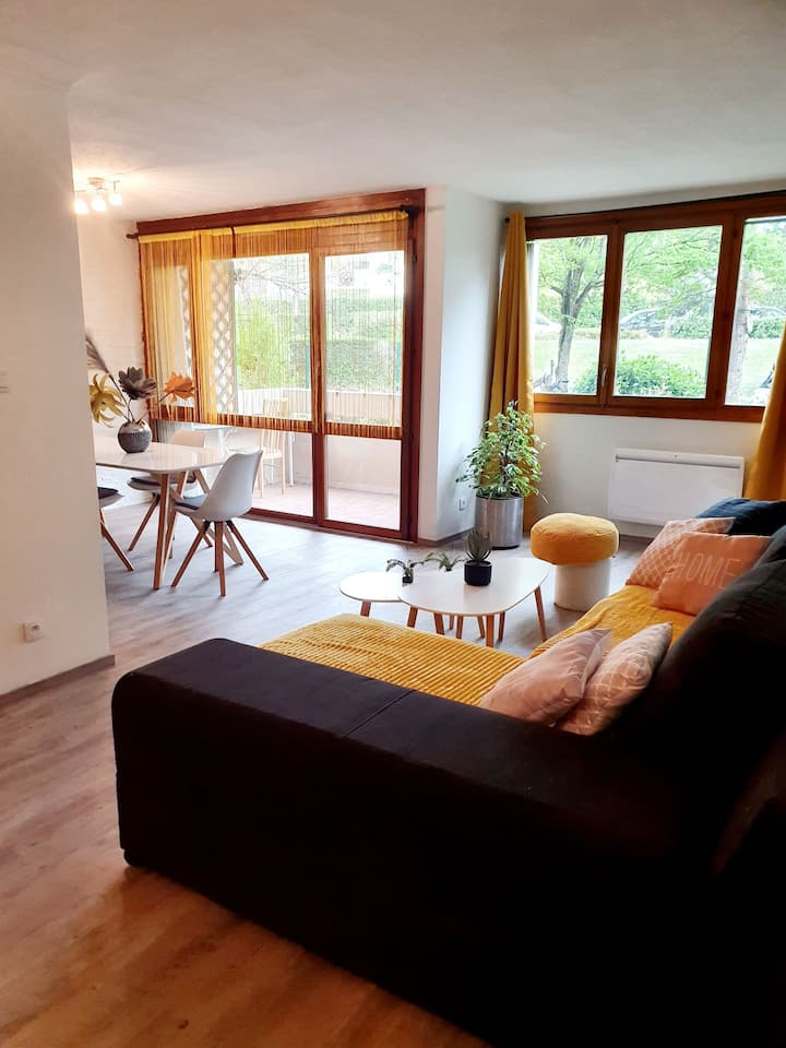 Appartement neuf /  1 min de la frontière Suisse