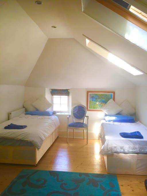 double/ or twin  bedroom