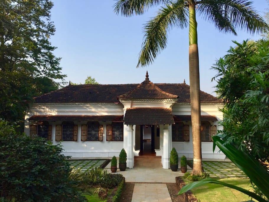 Heritage Indo–Portuguese property  in a 1.5 acre lush sub-tropical garden