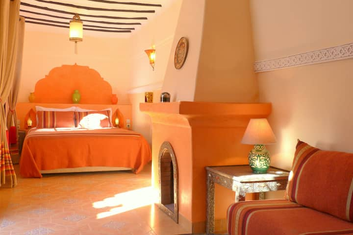 Bright suite room in the heart of the Medina