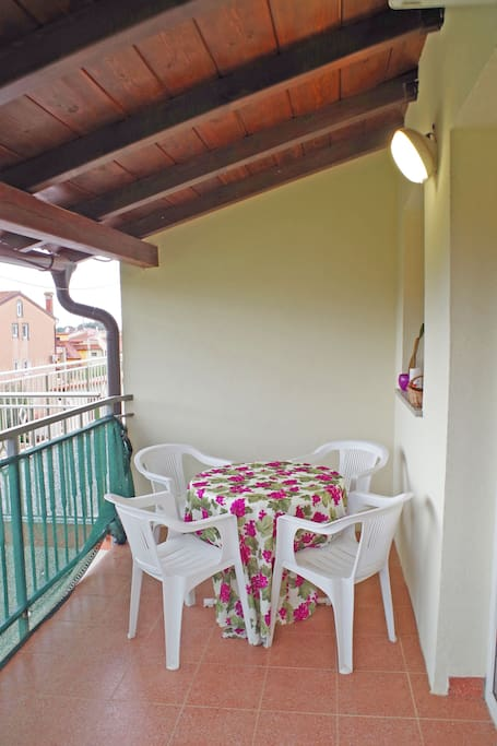 Big balcony for enjoying your perfect holiday