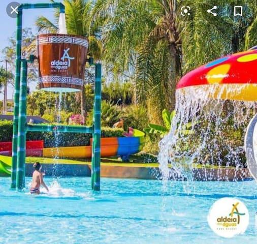 Quartier Flat  - Aldeia das Águas Park Resort