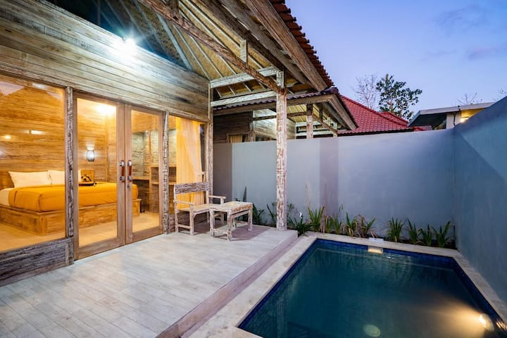 Private Bungalow with AC and Swimming Pool 2