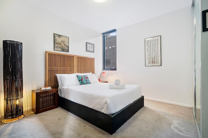 ★CARLTON ROOFTOP TERRACE★Parking | NBN | 1BD+Study