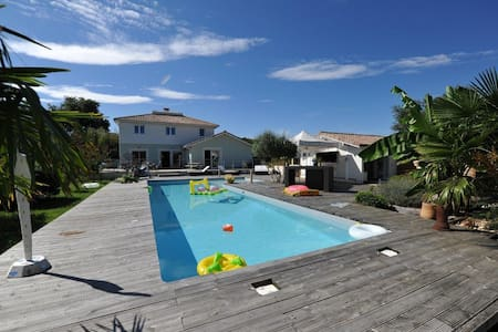 Villa for 12 persons near Saint-Emilion & Bordeaux - Cadarsac - House