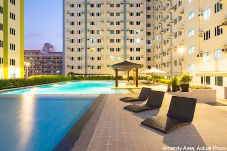 Cozy & Relaxing 1Br Condo in the heart of  Manila! - 奎松城 - 公寓