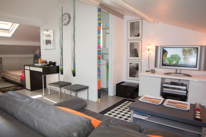 studio 2 Mint Beach 5 mnt Festival! - Cannes - Apartamento