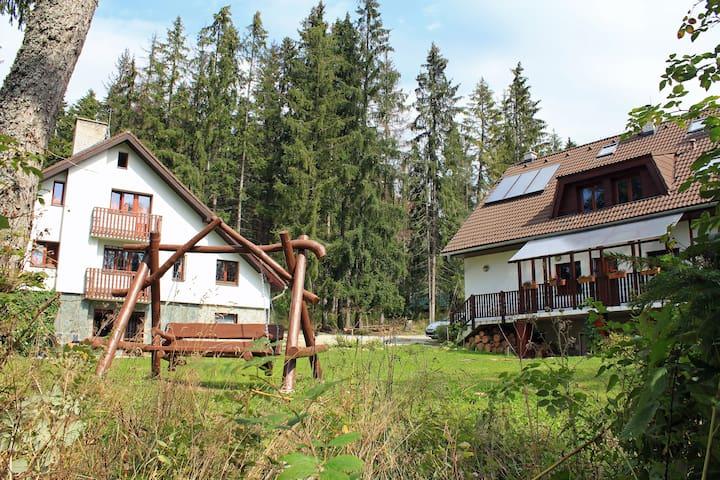Chaty Tatra for 2, Tatranská Strba - Štrba - Natuur/eco-lodge