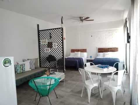 Cozy Loft in Kino Bay a 1 cuadra de la playa
