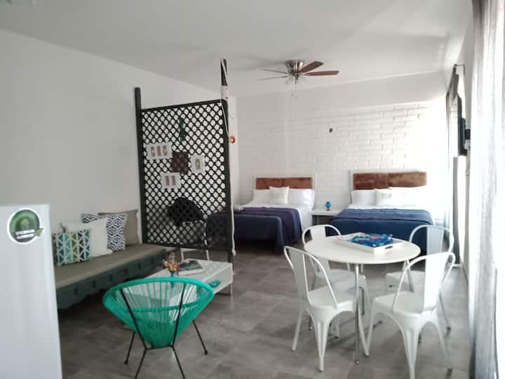 Cozy Loft in Kino Bay a 1 cuadra de la playa