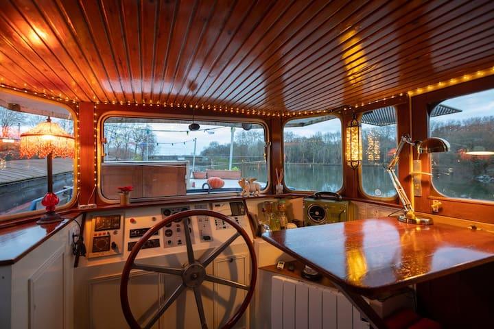 La cabine du marinier