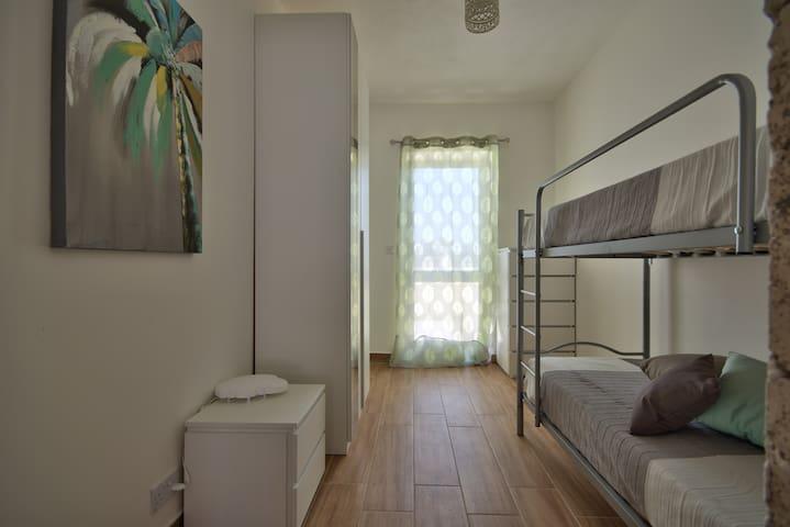 """Camera da letto """"Palma"""" con letto a castello"""