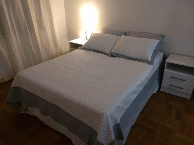 Apartamento de 1 dormitório...charme e conforto
