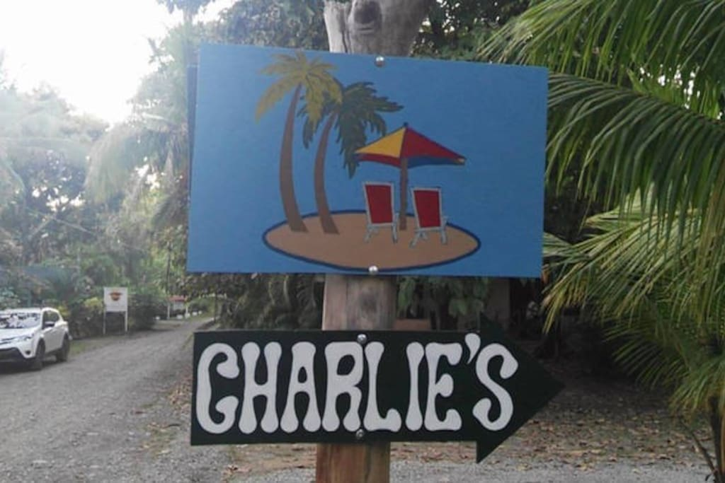 Jungle House Sign