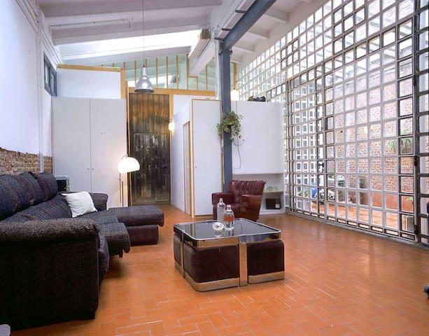 Large Industrial Loft in Madrid - Madrid - Loft