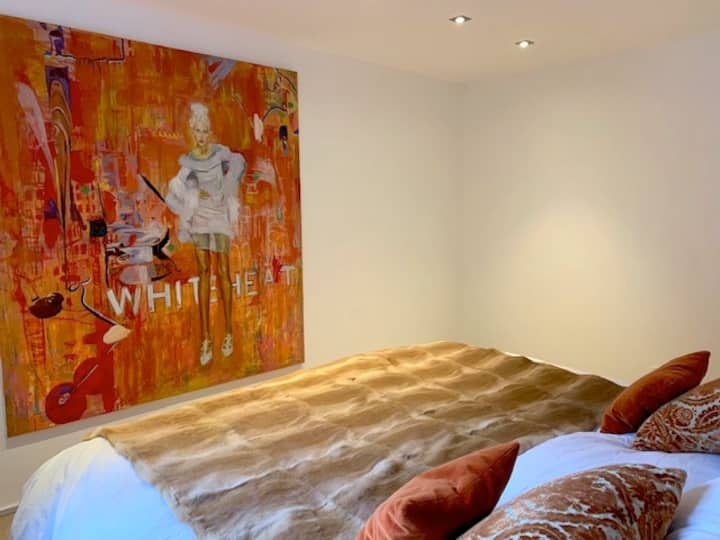 Appartement luxueux 2 chambres avec lits doubles