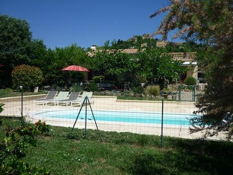 Lou Cigaloun, la quiétude en Provence à Vernegues