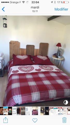 Chambre chalet dans le jardin - Aumont-Aubrac - Casa
