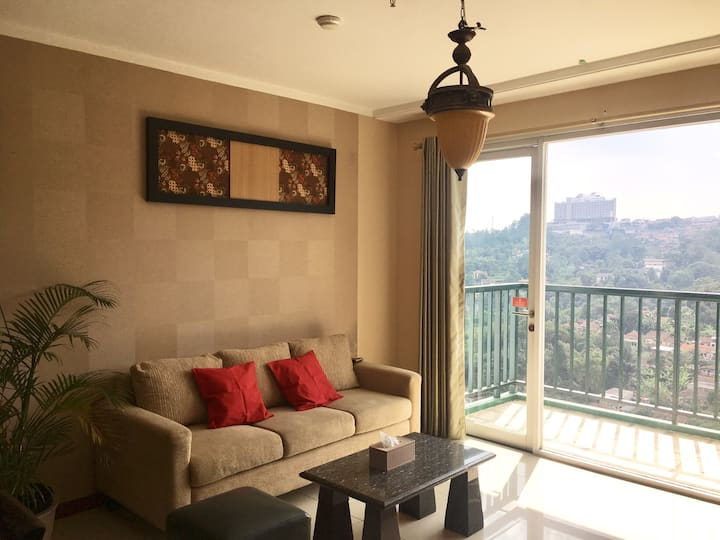 GREAT VIEW! 2BR Apt. with View @Dago Pakar