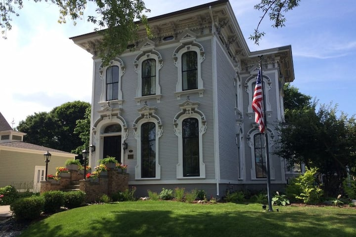 One of Grand Haven's most famous historic homes