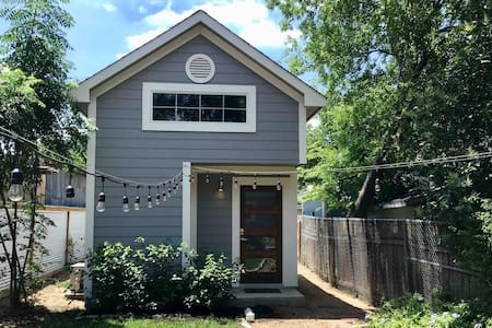 Tiny Home (Casita) Loft in Dignowity Hill