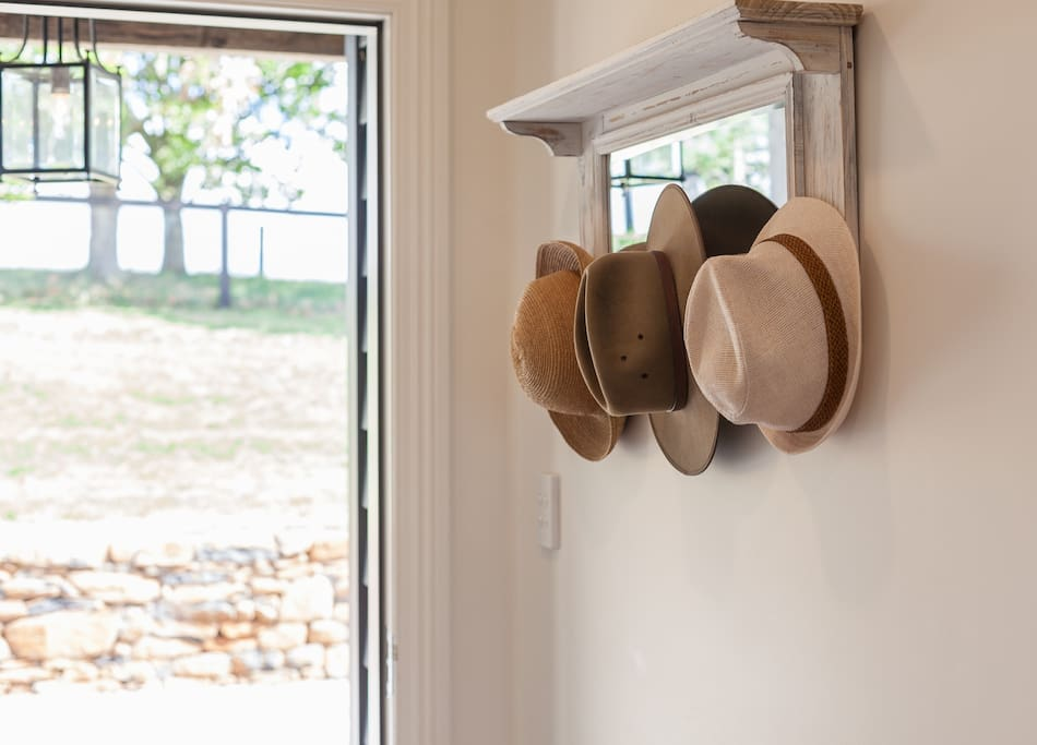 You can hang your hat right here