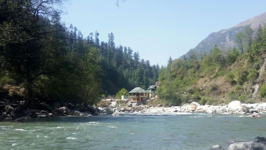 Parvati River Cottage Baladi - Kasol - Rumah