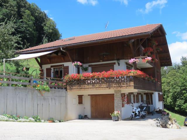 Appartement face au Mont-Blanc (Meublé tourisme)