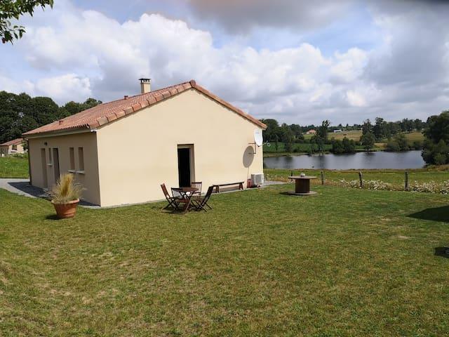 Maison 4 personnes à 5 min du Lac de Saint Pardoux