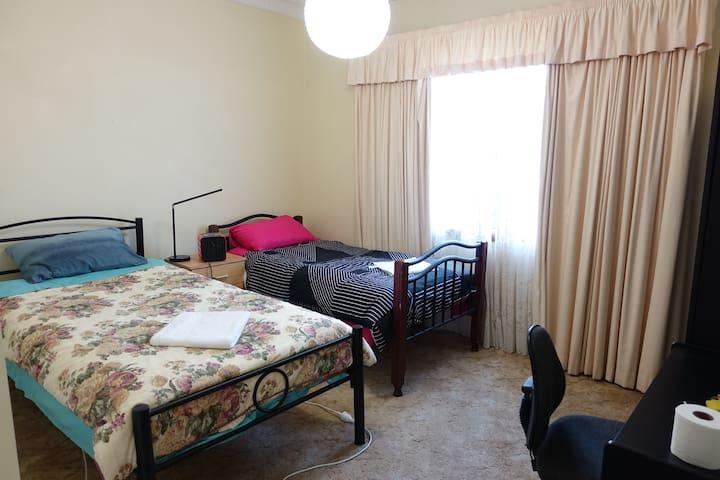 Twin Single Beds Room (W)