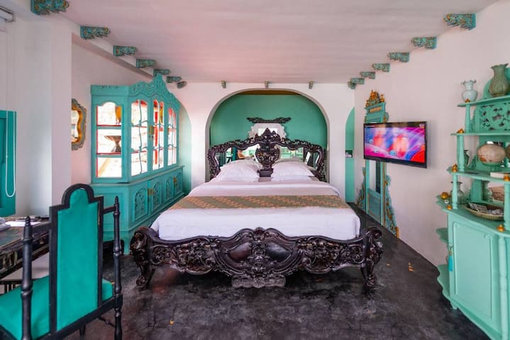 Morabito Art Cliff CARTAGENA Loft Bedroom 1