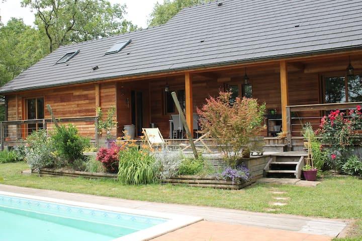 Maison au calme à 2 min de Brive-La-Gaillarde