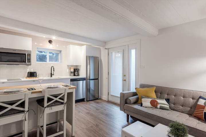Cozy, Newly Renovated Downtown-Parking&Privacy!