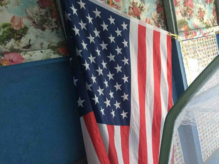American house in BKK MRT+4room+1bath+WIFI+AIR-CON