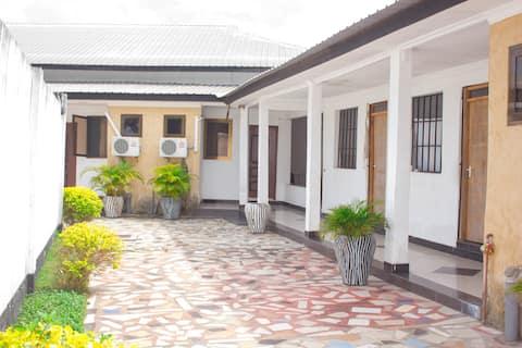 Touristic Private Beach Lodge – Room 1