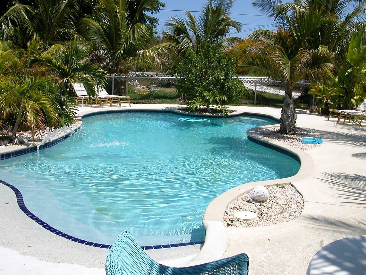 SuCasa's Private freshwater wade in pool